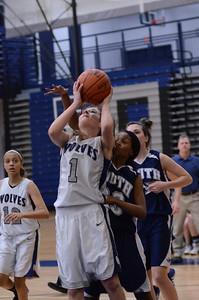 Oswego East girls basketball Vs Plainfield South 2012 011