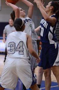 Oswego East girls basketball Vs Plainfield South 2012 070
