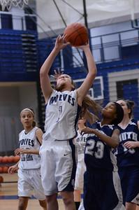 Oswego East girls basketball Vs Plainfield South 2012 012