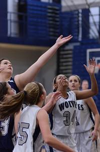 Oswego East girls basketball Vs Plainfield South 2012 042