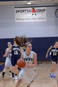 Oswego East girls basketball Vs Plainfield South 2012 035