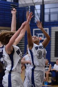 Oswego East girls basketball Vs Plainfield South 2012 043