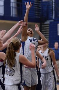 Oswego East girls basketball Vs Plainfield South 2012 040