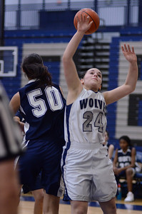Oswego East girls basketball Vs Plainfield South 2012 063