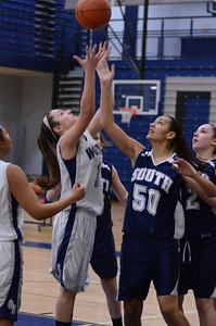 Oswego East girls basketball Vs Plainfield South 2012 066