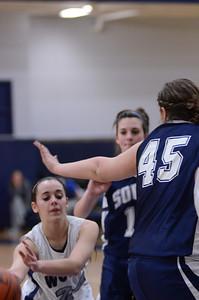 Oswego East girls basketball Vs Plainfield South 2012 045