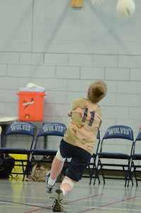 Oswego East boys volleyball(Volley for the troops) 2012 105