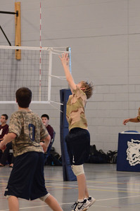Oswego East boys volleyball(Volley for the troops) 2012 475