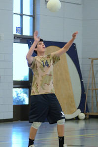 Oswego East boys volleyball(Volley for the troops) 2012 088