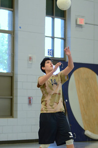Oswego East boys volleyball(Volley for the troops) 2012 091