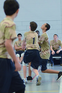 Oswego East boys volleyball(Volley for the troops) 2012 103