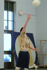 Oswego East boys volleyball(Volley for the troops) 2012 094