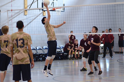 Oswego East boys volleyball(Volley for the troops) 2012 202