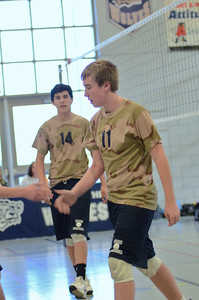 Oswego East boys volleyball(Volley for the troops) 2012 080