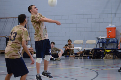 Oswego East boys volleyball(Volley for the troops) 2012 183