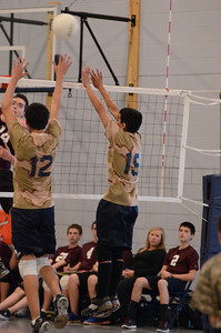 Oswego East boys volleyball(Volley for the troops) 2012 490