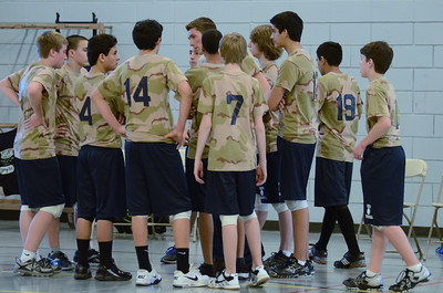 Oswego East boys volleyball(Volley for the troops) 2012 106