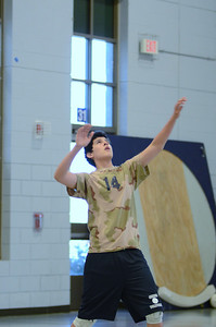 Oswego East boys volleyball(Volley for the troops) 2012 092