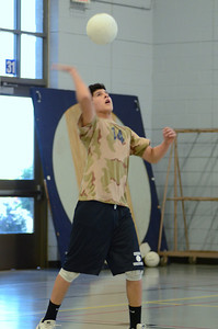 Oswego East boys volleyball(Volley for the troops) 2012 089