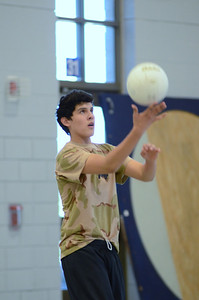 Oswego East boys volleyball(Volley for the troops) 2012 096