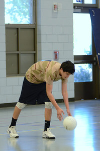 Oswego East boys volleyball(Volley for the troops) 2012 084