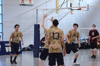 Oswego East boys volleyball(Volley for the troops) 2012 201