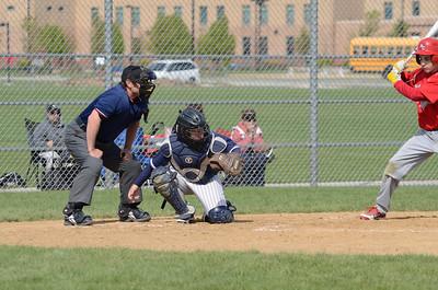 Oswego East boys Fresh  baseball 2012 075