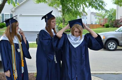 Oswego East Graduating class of 2012 091
