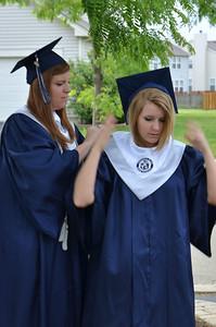 Oswego East Graduating class of 2012 090