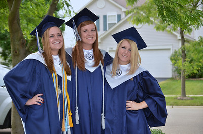 Oswego East Graduating class of 2012 094