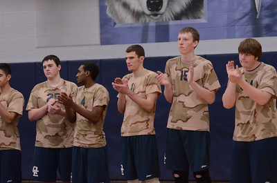 Oswego East boys volleyball(Volley for the troops) 2012 345