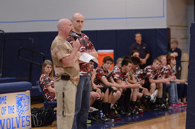 Oswego East boys volleyball(Volley for the troops) 2012 330