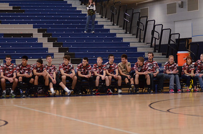 Oswego East boys volleyball(Volley for the troops) 2012 327