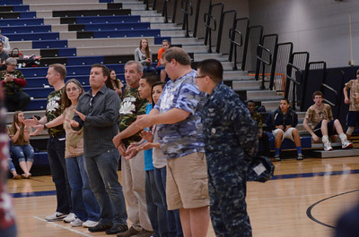 Oswego East boys volleyball(Volley for the troops) 2012 337