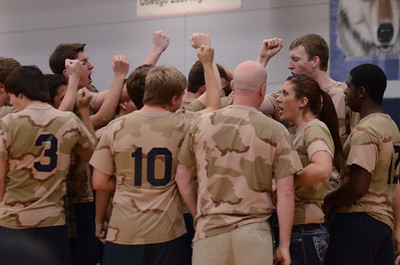 Oswego East boys volleyball(Volley for the troops) 2012 350
