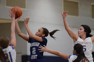 OE Varsity girls basketball tourament Vs ACC 305