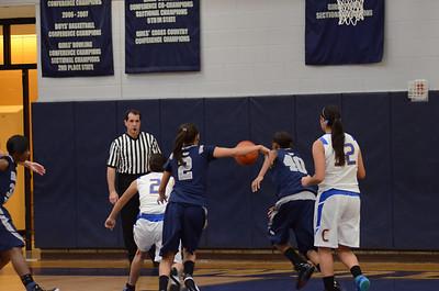 OE Varsity girls basketball tourament Vs ACC 115