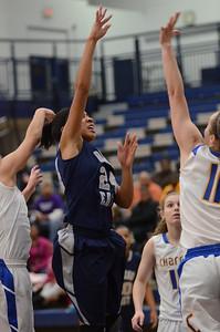OE Varsity girls basketball tourament Vs ACC 101