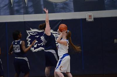 OE Varsity girls basketball tourament Vs ACC 377