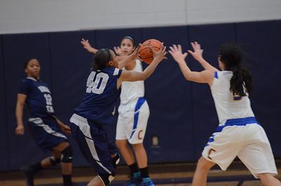 OE Varsity girls basketball tourament Vs ACC 203