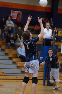 Oswgo East boys volleyball Vs Oswego 2012 342