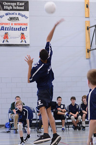 Oswego East boys volleyball Vs Plainfield Central 105
