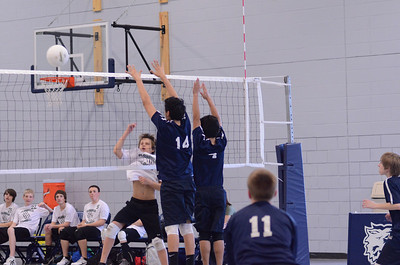 Oswego East boys volleyball Vs Plainfield Central 129