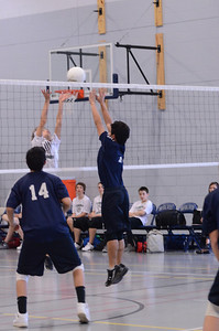 Oswego East boys volleyball Vs Plainfield Central 140