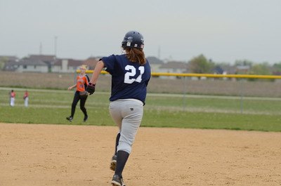 Oswego East girls fresh  softball 2012 032