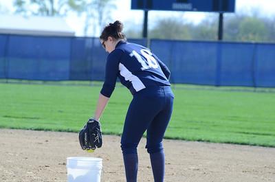 Oswego East girls softball senior night Vs Rosary 2012 005