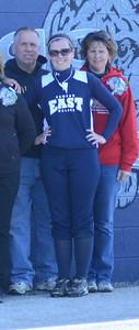 Oswego East girls softball senior night Vs Rosary 2012 027