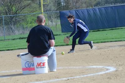 Oswego East girls softball senior night Vs Rosary 2012 001