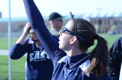 Oswego East girls softball senior night Vs Rosary 2012 018