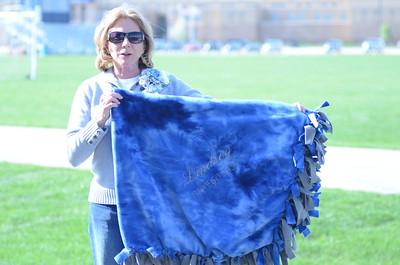 Oswego East girls softball senior night Vs Rosary 2012 007